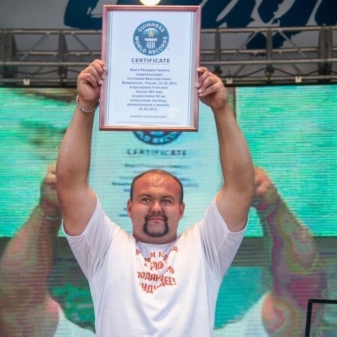 Иван Савкин сдвинул 312-тонный кран вчесть воссоединения Крыма сРоссией