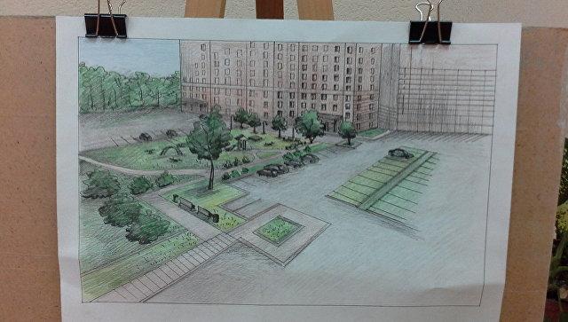 Выставка эскизов проектных решений по благоустройству Симферополя, Бахчисарая и Севастополя