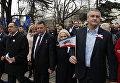 Шествие в честь третьей годовщины Общекрымского референдума