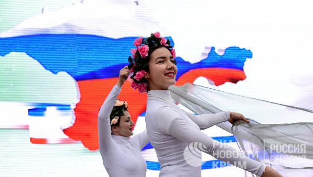 Праздничные мероприятия, посвященные годовщине Крымской весны. Архивное фото