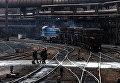 Завод в Донбассе