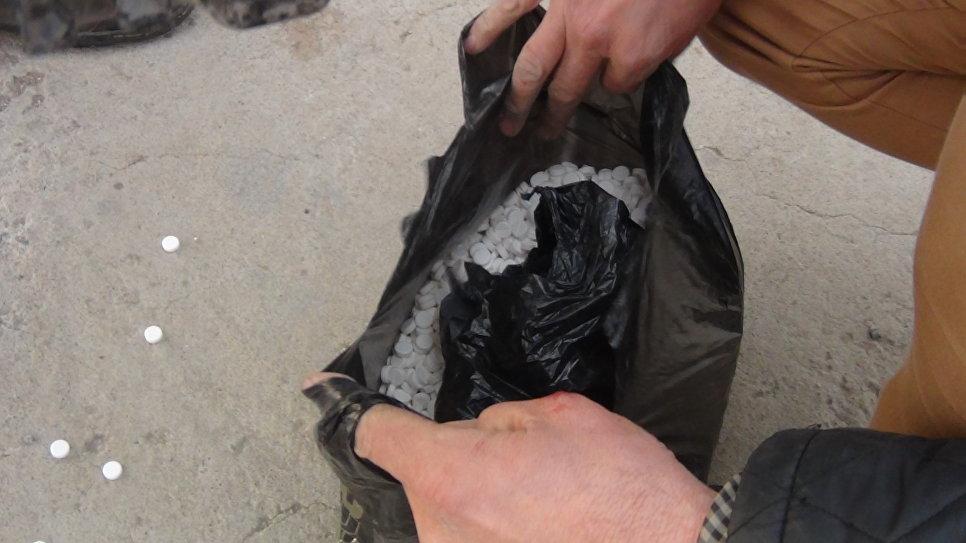 Крымские таможенники недали ввезти наполуостров контрабанду медикаментов