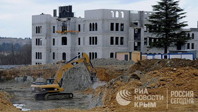ВКрыму начато строительство здания Соборной мечети