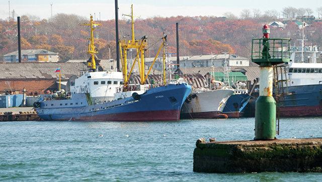 Морской порт. Архивное фото