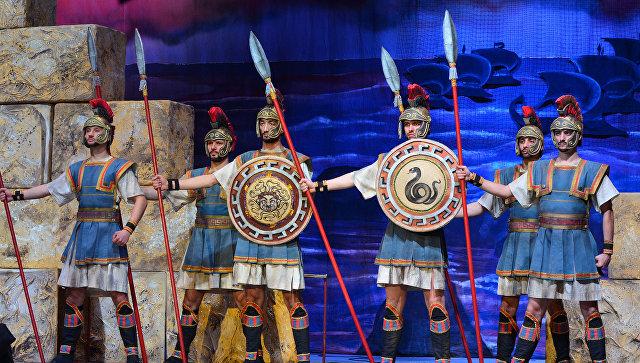 Премьера античной музыкальной трагедии Троянки на сцене Государственного академического музыкального театра Республики Крым в Симферополе