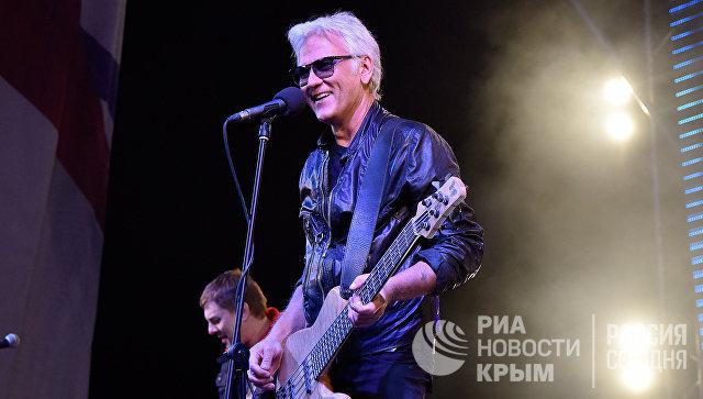Александр Машрал в Симферополе на концерте в честь воссоединения Крыма с Россией
