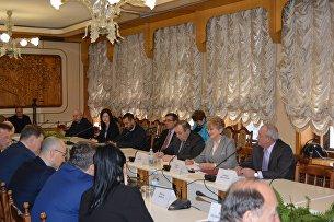 Встреча европарламентариев с уполномоченным по правам человека в РК Людмилой Лубиной