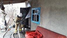 Часть дома в Крыму обрушилась из-за взрыва газового баллона