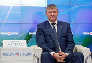 Депутат Государственной Думы России Михаил Шеремет