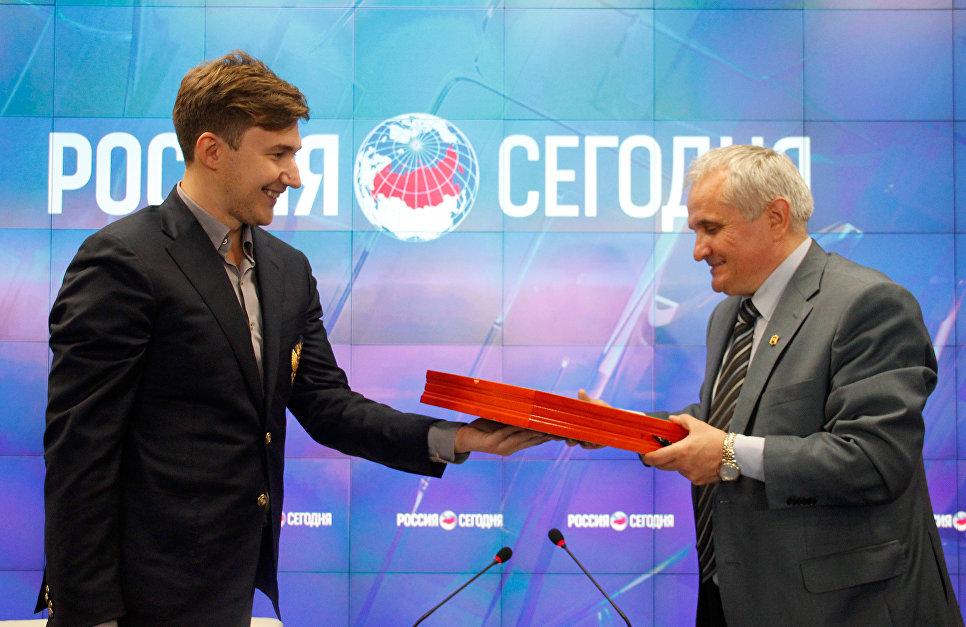 Сергей Аксёнов анонсировал открытие шахматной школы Сергея Карякина вСимферополе