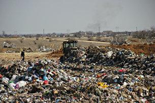 Создание саркофага для навалов мусора, оставленных предшественниками на полигоне ТБО в Тургеневском карьере