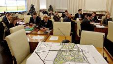 Рабочее совещание, в рамках которого презентовали проект планировки территории массива Крымская роза г. Симферополь.
