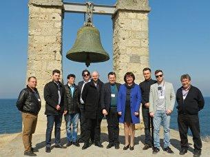Делегация предпринимателей и политиков из Германии посетила музей-заповедник Херсонес Таврический