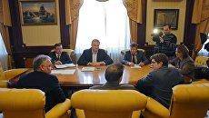 Глава Республики Сергей Аксенов провел встречу с иранским бизнесменом Эсхани Алиакбара