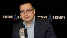 Начальник Службы автомобильных дорог Республики Крым Алексей Сафронов