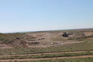 Уборка несанкционированной свалки  в с. Лекарственное Симферопольского района