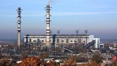 Трипольская тепловая электростанция. Архивное фото