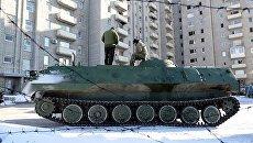 Бронемашина ВСУ в Донбассе. Архивное фото