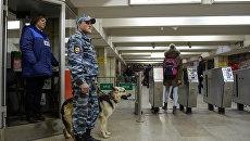 Усиление мер безопасности в Новосибирском метро