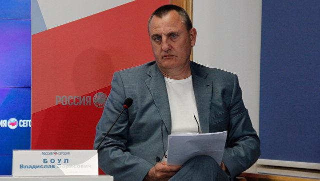 Директор Крымского гарантийного фонда поддержки предпринимательства Владислав Боул