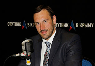 Председатель Государственного комитета по государственной регистрации и кадастру Республики Крым Александр Спиридонов