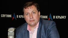 Заместитель министра внутренней политики, информации и связи Республики Крым Максим Яковлев