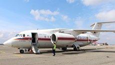Эвакуация тяжелобольных пациентов на самолете МЧС России
