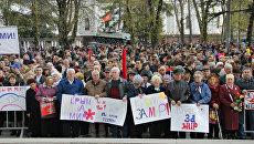 Митинг Вместе против террора в Симферополе