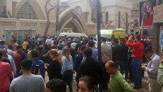 Последствия взрыва в египетской Танте