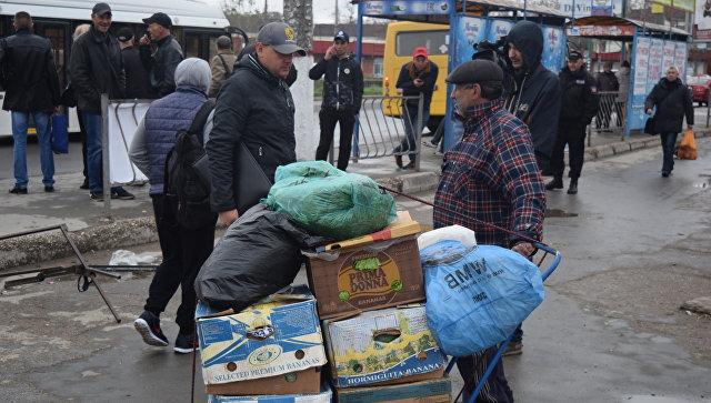 Рейд по борьбе со стихийной торговлей в Симферополе