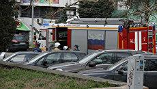 В Симферополе оцепили часть площади Ленина из-за книги, найденной у памятника вождю