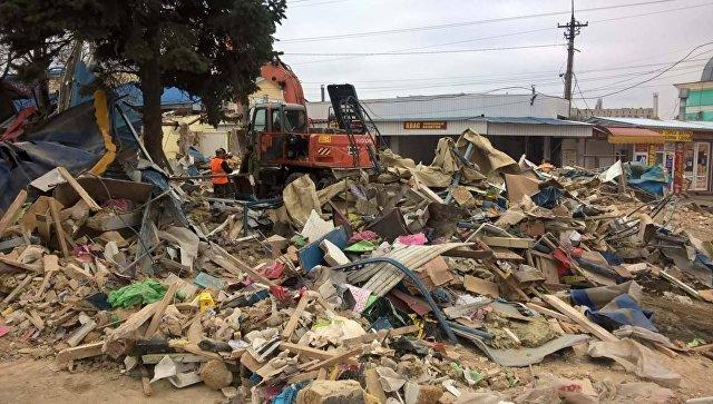 Симферополь: Центральный рынок будет зачищен отнезаконных строений кПасхе
