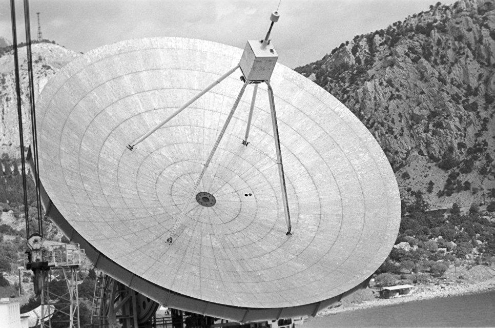 Зеркало радиотелескопа Крымской астрофизической обсерватории