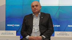 Организатор визита испанской делегации в Крым, депутат городского совета Судака Владимир Болтунов