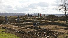 Раскопки. Архивное фото