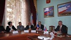 Представители Франции посетили Крымский федеральный университет имени В.И. Вернадского