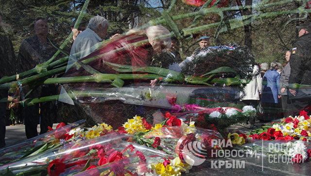 Годовщина освобождения Симферополя от немецко-фашистских захватчиков