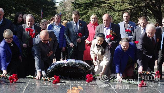 Мероприятия, посвященные 73-й годовщине освобождения Симферополя от немецко-фашистских захватчиков