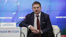 Заместитель министра промышленной политики Республики Крым Борис Кабаков