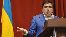 Выступление Михаила Саакашвили во Львове