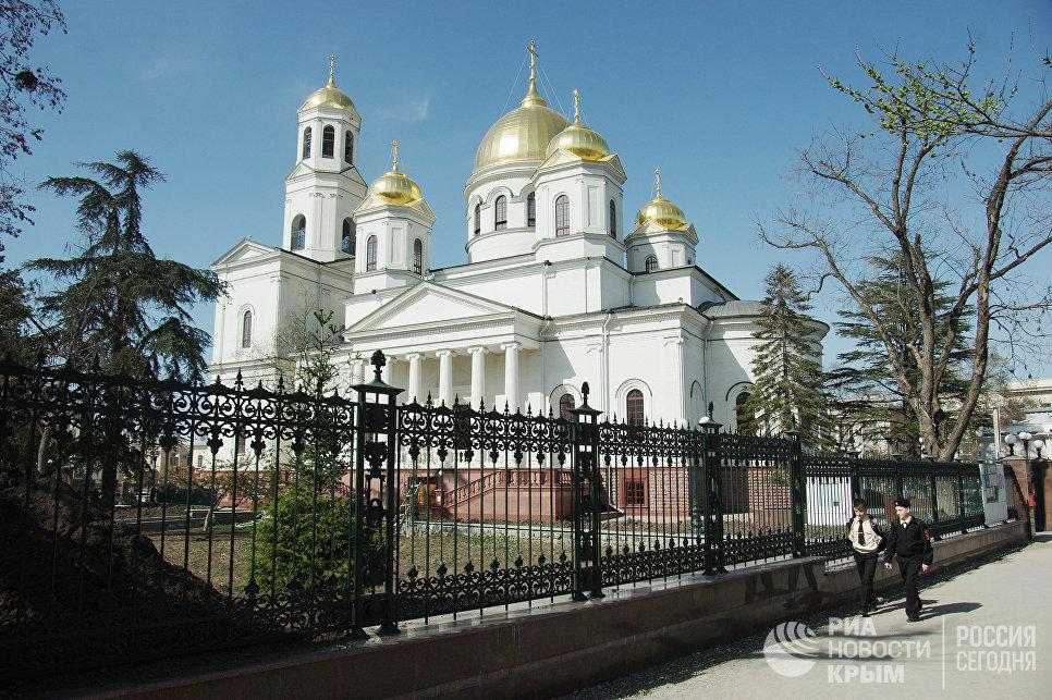 Свято-Александро-Невскоий кафедральный собор в Симферополе