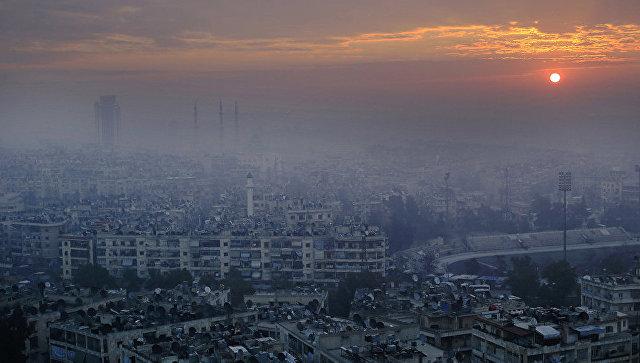 Панорама Алеппо, Сирия