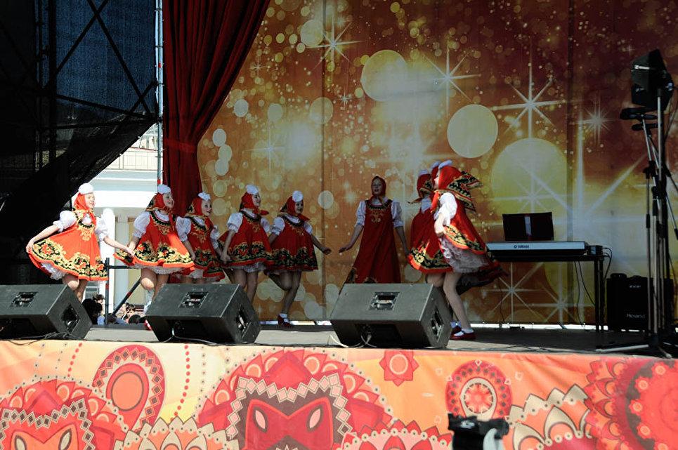 Празднование Пасхи в Ялте