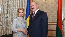 Встреча Ю.Тимошенко и В.Лукашенко