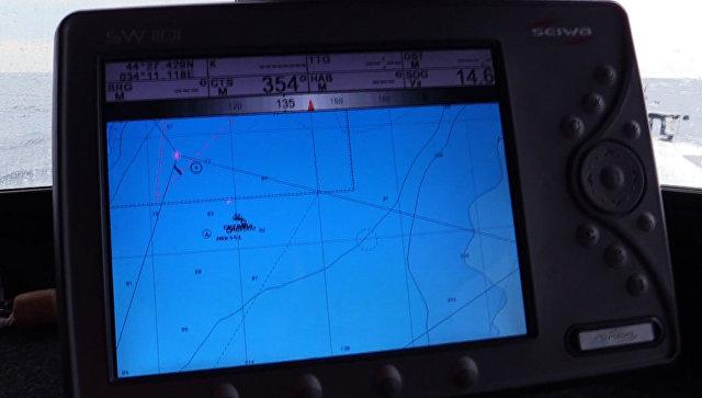 Поисково-спасательная операция на месте кораблекрушения сухогруза Герои Арсенала в акватории Черного моря