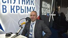 Член президиума генерального совета Деловой России Дмитрий Пурим в выездной студии радио Спутник в Крыму на ЯМЭФ-2017