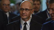 Первый заместитель главы администрации президента России Сергей Кириенко на III Ялтинском международном экономическом форуме