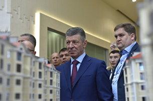 Вице-премьер РФ Дмитрий Козак на Ялтинском международном экономическом форуме