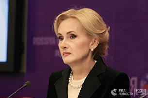 Вице-спикер Госдумы РФ Ирина Яровая. Архивное фото