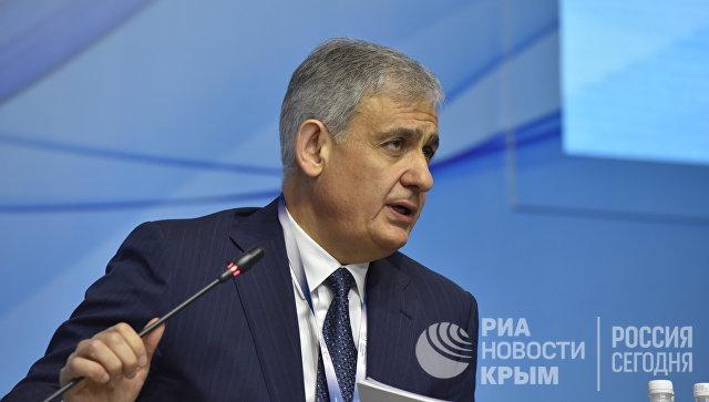 Заместитель министра экономического развития РФ Сергей Назаров на III Ялтинском международном экономическом форуме в Крыму